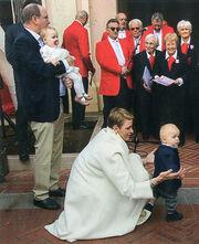 Πρίγκιπας Αλβέρτος: Δημόσιο πάρτι για πρώτα γενέθλια των διδύμων!