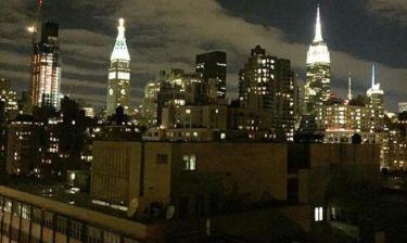 Ποια Ελληνίδα παρουσιάστρια έχει αυτή τη θέα στη Νέα Υόρκη;