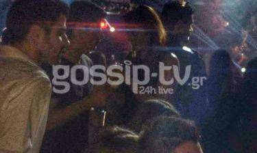 Πέτρος Μάνταλος- Χρστίνα Βραχάλη. Οι πρώτες εικόνες του έρωτά τους (Nassos blog)