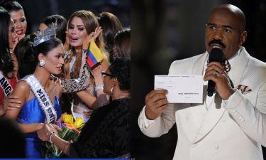 Αυτή κι αν είναι γκάφα στα «Μις Υφήλιος»: Έστεψαν λάθος νικήτρια