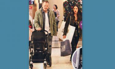 Σκαρμούτσος-Ντάνα: Τα πρώτα Χριστούγεννα με τον γιο τους