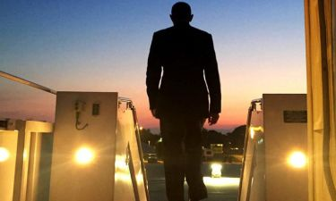 O Barack Obama… backstage