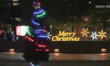 Ένα χριστουγεννιάτικο δέντρο... δρομέας!