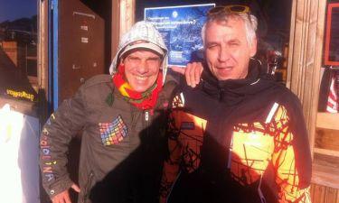 O Manu Chao έκανε σκι στα… Γρεβενά