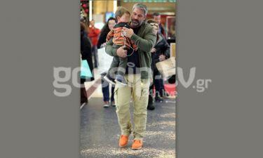 Χαριτάτος: Για ψώνια με τον ανιψιό του πριν την Πρωτοχρονιά