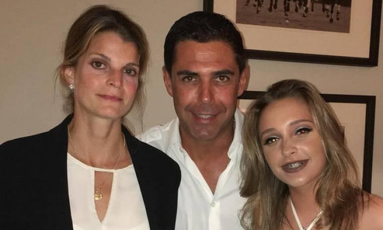 Αθηνά Ωνάση: Η πρώτη οικογενειακή φωτογραφία για το 2016