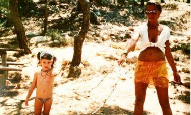 Ποια πασίγνωστη Ελληνίδα celebrity είναι το κοριτσάκι της φωτογραφίας;