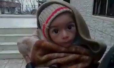 Στη Μαντάγια της Συρίας τα παιδιά πεθαίνουν από την πείνα