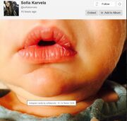 Θα λιώσετε: Η νέα φωτογραφία του νεογέννητου γιου της Σοφίας Καρβέλα!