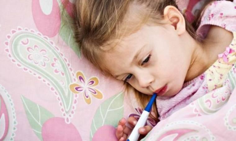 Επικίνδυνες οι λοιμώξεις του χειμώνα για τα παιδιά!