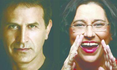 Η Μαρία Φαραντούρη και ο Γιώργος Νταλάρας  συναντούν τη Συμφωνική Ορχήστρα του Δήμου Αθηναίων
