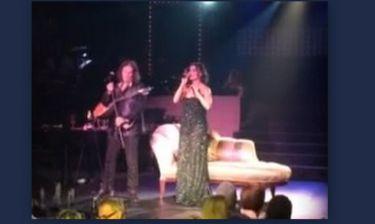 Η Λοτσάρη τραγούδησε το «Αρχιπέλαγος» με τον Παπαδόπουλο