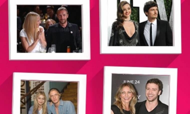 Από πρώην... φίλοι: Celebrities που δεν είναι πια ζευγάρια, αλλά κάνουν παρέα