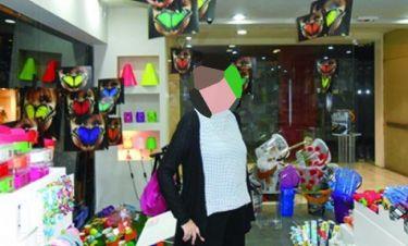 Λουκέτο στο μαγαζί γνωστής ηθοποιού στο Κολωνάκι