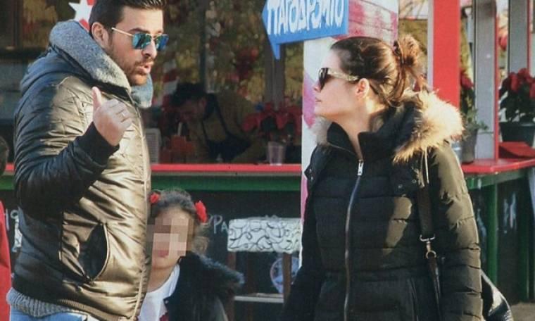 Γιάννης Αϊβάζης - Μαρία Κορινθίου: Τρυφερές στιγμές με την Ισμήνη τους