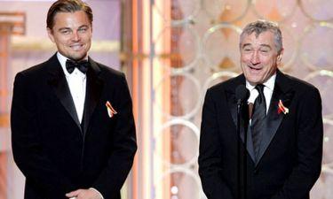 Leonardo di Caprio:«Ο Robert de Niro είναι ο θεός της υποκριτικής»
