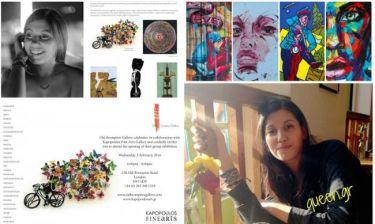 Η 22 χρονών Ελληνίδα που κατακτάει τον χώρο της τέχνης στο Λονδίνο (Majenco's point of view)