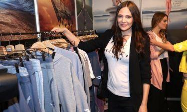 Η Μπόσνιακ στην παρουσίαση ρούχων της Elmira Begatti