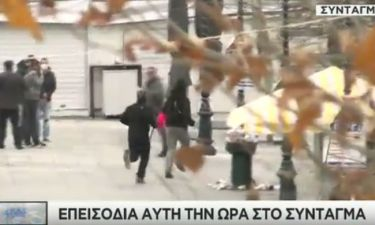 Απεργία - LIVE: «Πεδίο μάχης» το κέντρο της Αθήνας – «Πνίγηκε» στα χημικά το Σύνταγμα (pics+vids)