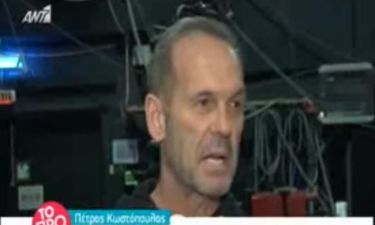 Πέτρος Κωστόπουλος: «Δεν διάλεξα εγώ να είμαι απέναντι από τον Γρηγόρη Αρναούτογλου»!