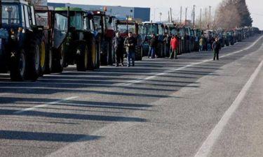 Μπλόκα αγροτών: Έκλεισε επ΄αόριστον ο αυτοκινητόδρομος Τρίπολης - Κορίνθου