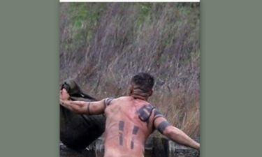 Αυτά είναι! Πασίγνωστος ηθοποιός βουτάει ολόγυμνος σε παγωμένη λίμνη