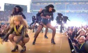 Beyonce: Παραλίγο να «φάει» τούμπα στον τελικό του Super Bowl