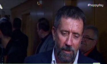 Έξαλλος ο Σπύρος Παπαδόπουλος: «Είναι χυδαίο να λένε ότι έχω λεφτά στο εξωτερικό»
