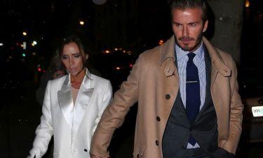 Ρομαντικό δείπνο για τον David και την Victoria Beckham