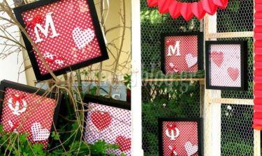 14 Φεβρουαρίου- Ημέρα Αγίου Βαλεντίνου: Φτιάξτε ένα δώρο αγάπης για τον αγαπημένο σας!