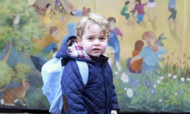 Οι πρώτες μέρες του Πρίγκιπα George στον παιδικό σταθμό