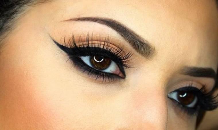 Έχετε πρόβλημα με το eyeliner; Σας έχουμε τη λύση (βίντεο)