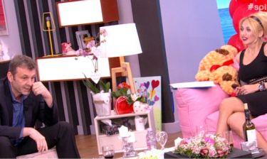 «Πάγωσε» η Σπυροπούλου με τα «γαλλικά» του Γκλέτσου on air