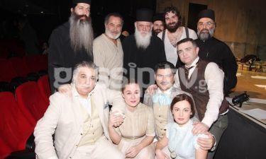 Ο αρχιεπίσκοπος Ιερώνυμος στο θέατρο