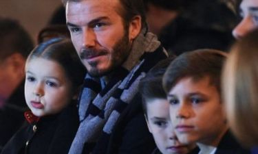 Η μικρή Harper Beckham έκλεψε για ακόμα μία φορά τις εντυπώσεις