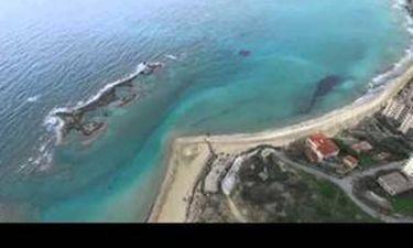Συγκλονιστικές εικόνες με drone πάνω από την κλειστή πόλη της Αμμόχωστου