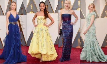 Όσκαρ 2016: Οι πρώτες εμφανίσεις στο κόκκινο χαλί των Oscars