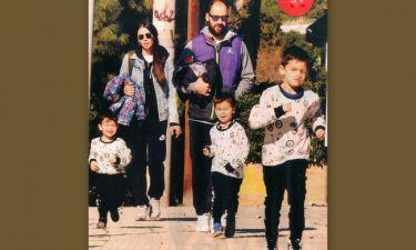Χοψονίδου-Σπανούλης: Οικογενειακή βόλτα
