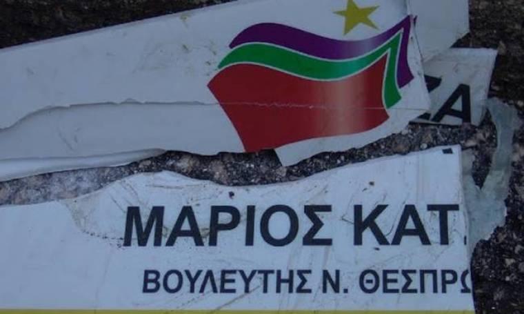 Ηγουμενίτσα: Αγρότες έριξαν αυγά και ντομάτες στο γραφείο βουλευτή του ΣΥΡΙΖΑ