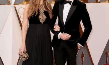 Ο υποψήφιος για Όσκαρ στο κόκκινο χαλί με την εγκυμονούσα σύζυγό του! (εικόνες)