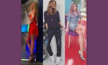 Διάσημες Ελληνίδες φορούν τις πιο hot ανοιξιάτικες τάσεις στα παπούτσια!