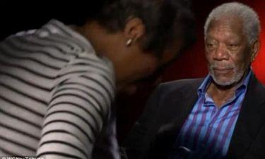 Morgan Freeman: Φλέρταρε ανοιχτά δημοσιογράφο!