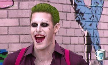 Αγνώριστος ο Μαρτάκης ως ο Joker