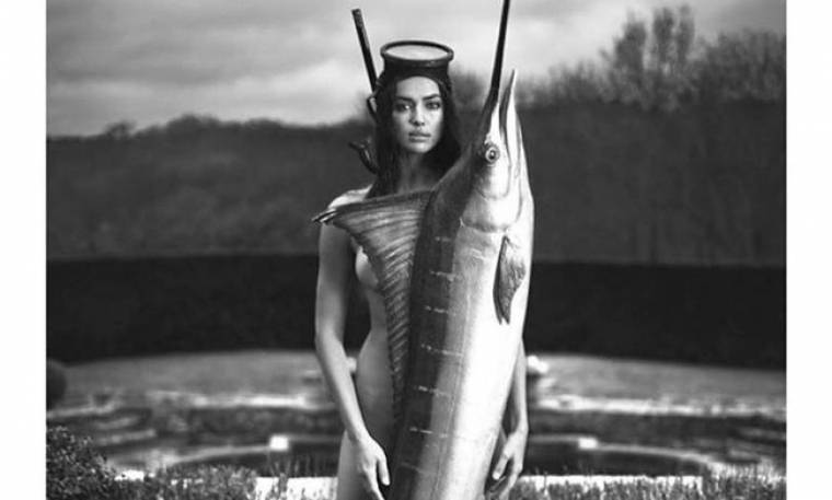Η Irina Shayk και ο… ξιφίας