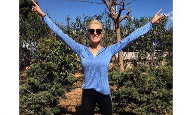 Κατερίνα Καινούργιου: Γυμνάζεται και… χαμογελά