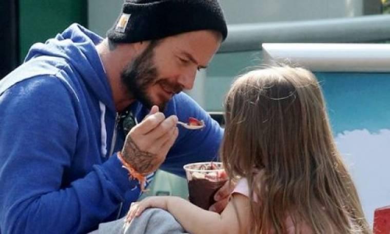 Ο David Beckham δημοσίευσε άλλη μια αξιολάτρευτη φωτογραφία της Harper