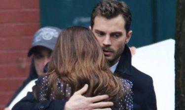 Η νέα φωτογραφία από τα γυρίσματα του «Fifty Shades of Grey» μοιάζει βγαλμένη από θρίλερ!