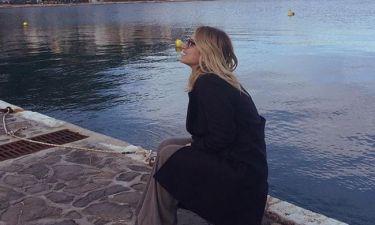Full in love η Ηλιάκη! Ηλιοβασίλεμα στην Χίο με τον σύντροφό της