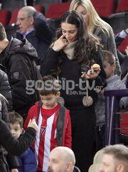 Ολυμπία Χοψονίδου: Με τους γιους της στο γήπεδο