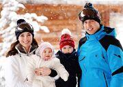 Παιχνίδια στα χιόνια για την βασιλική οικογένεια της Αγγλίας